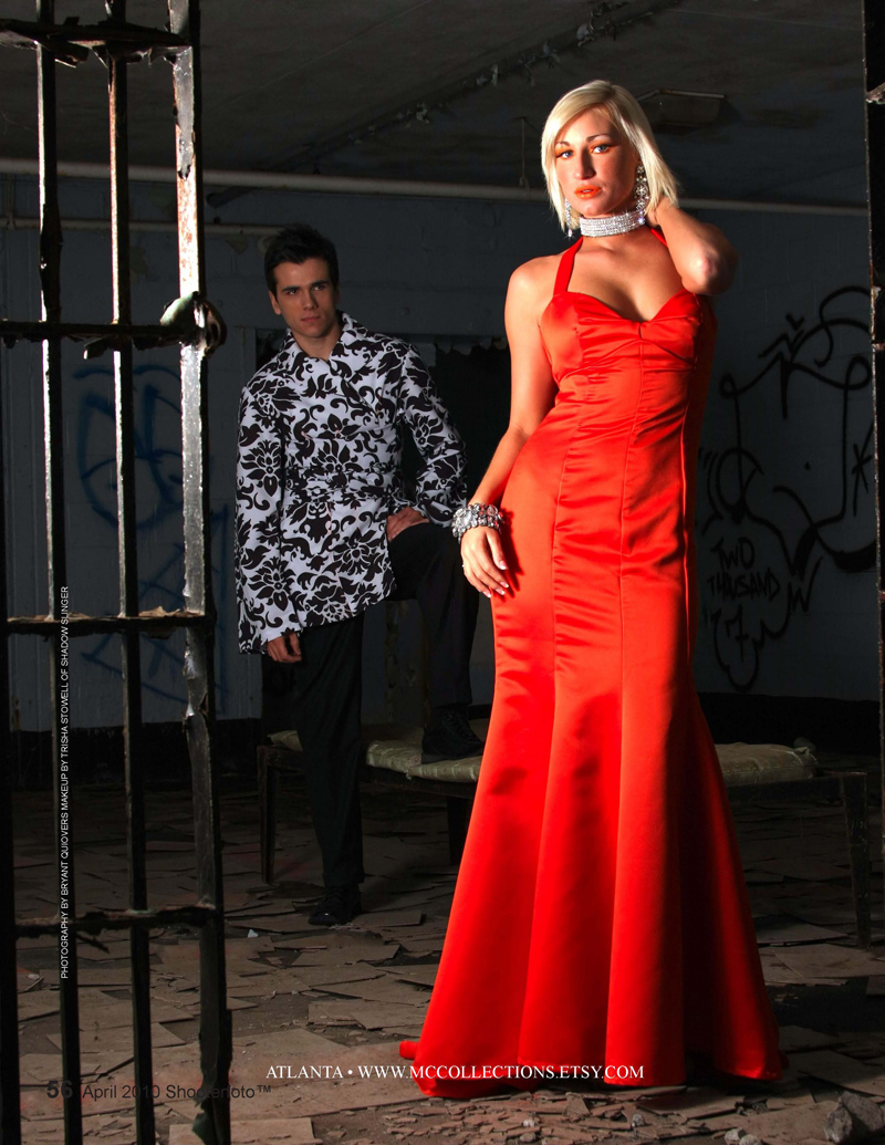 Female and Male model photo shoot of marian collier, Jessica Huntington and frank Carrijo by BDQMedia LLC, makeup by Trisha Stowell