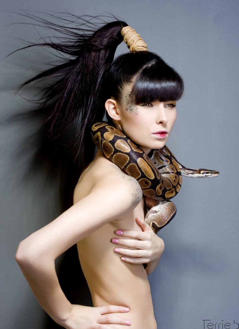 Female model photo shoot of Amenda Bera by Terrie B in Montreal
