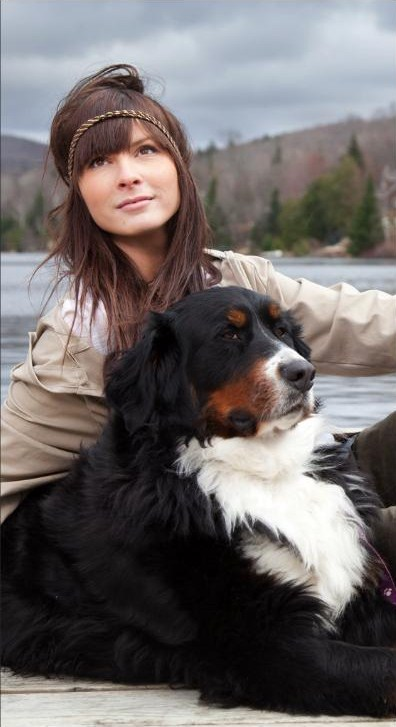 Female model photo shoot of Elodie Brady in mont-tremblant