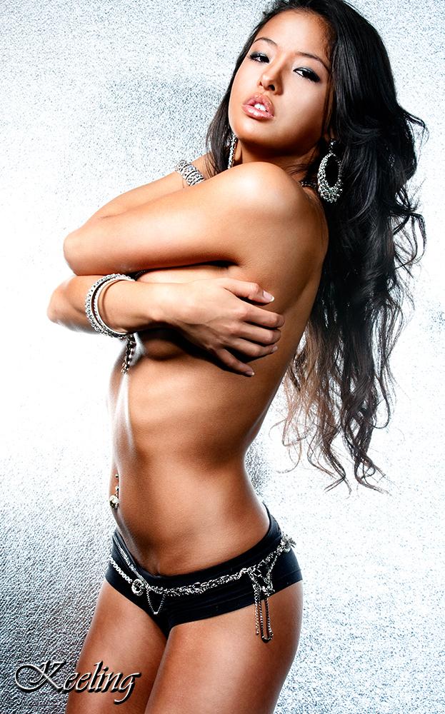 Female model photo shoot of Brittany Murata by K E E L I N G