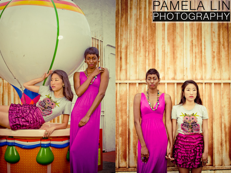 Female model photo shoot of Pamela Lin Photography, Judy L and Shani Hillian