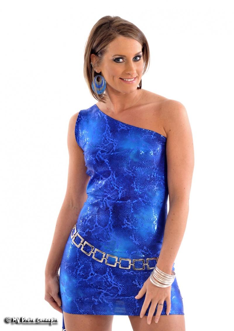 Ambient Plus Studios Apr 20, 2010 MV Photos Blue One Shoulder Dress