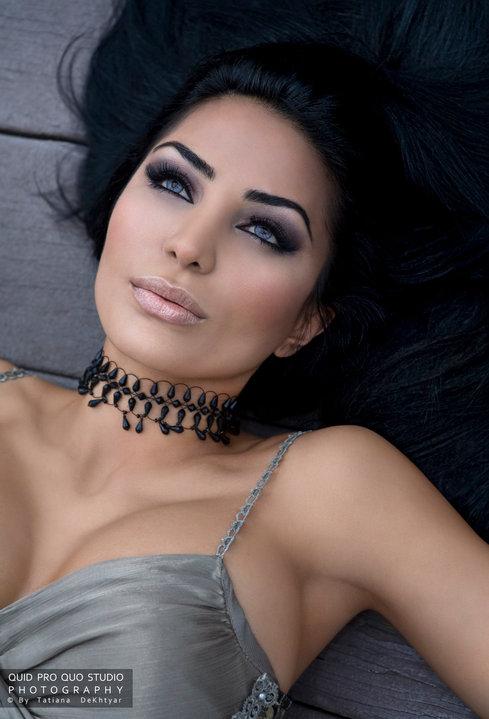 La La Land Apr 22, 2010 Tatiana: Quid Pro Quo Studio Photography Model: Maryam Usc    Makeup by Lyndsay