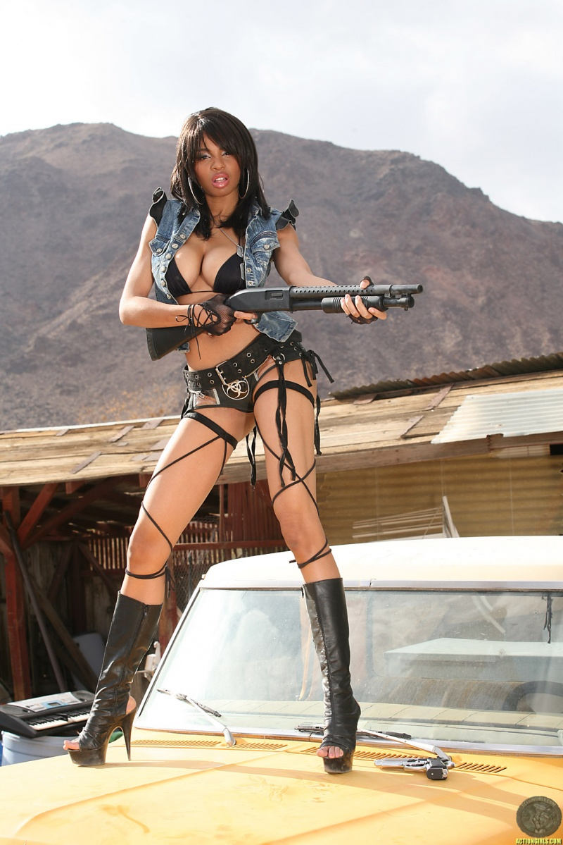 Clai Apr 22, 2010 actiongirls.com dont get to close or else you might get shot.....