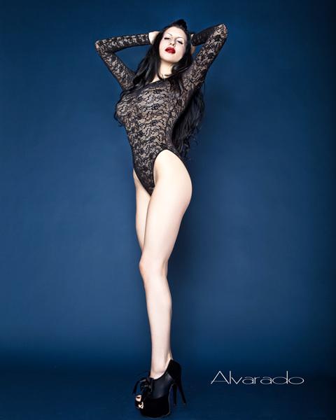 Female model photo shoot of Madelina Horn by Robert Alvarado in Los Angeles