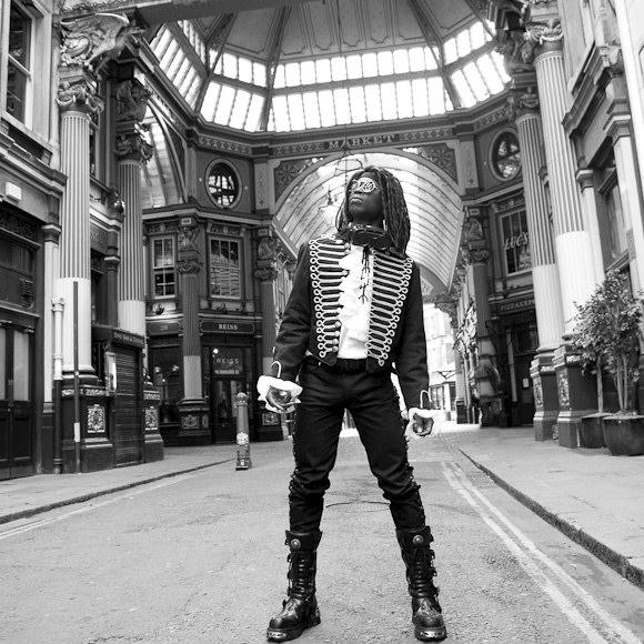Male model photo shoot of ScottyH in Leadenhall Market