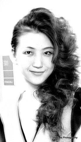 Female model photo shoot of Kyra Hunter in Haute for Haiti- Boston College
