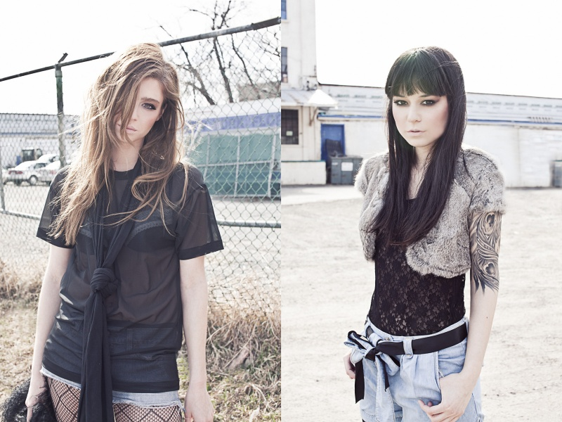 Female model photo shoot of Emilie Cyr