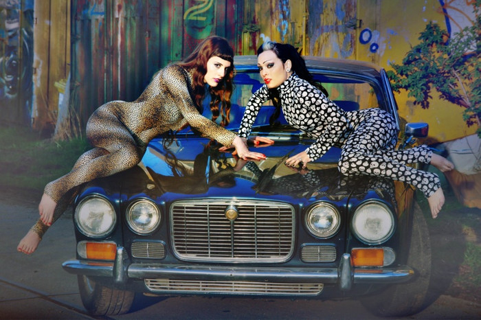 Female model photo shoot of Dana Dead Girl and Liesaatje by MustangMaryPhotography in ADM Amsterdam
