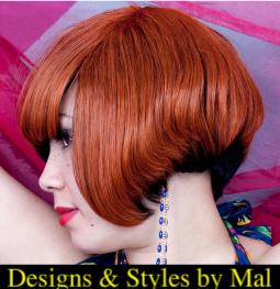 Female model photo shoot of MALIKATHEHAIRSTYLISTcom in Xplosion's Salon