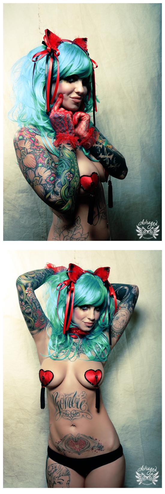 Apr 29, 2010 Dangerousy Dolly - Artraged Kitty Ears & Pasties
