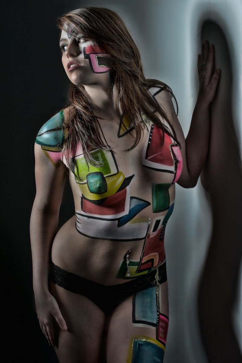 Kalamazoo, MI Apr 30, 2010 Strome Photography Cristina in shapes!
