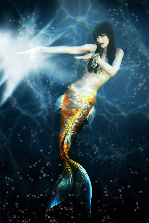 Phoenix May 01, 2010 2010, Model: Dolly Diamonds The Mermaid