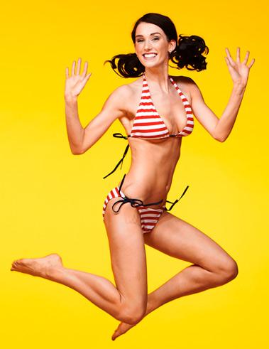 Female model photo shoot of Lizzy Rockabella in Noah Fallis Studio