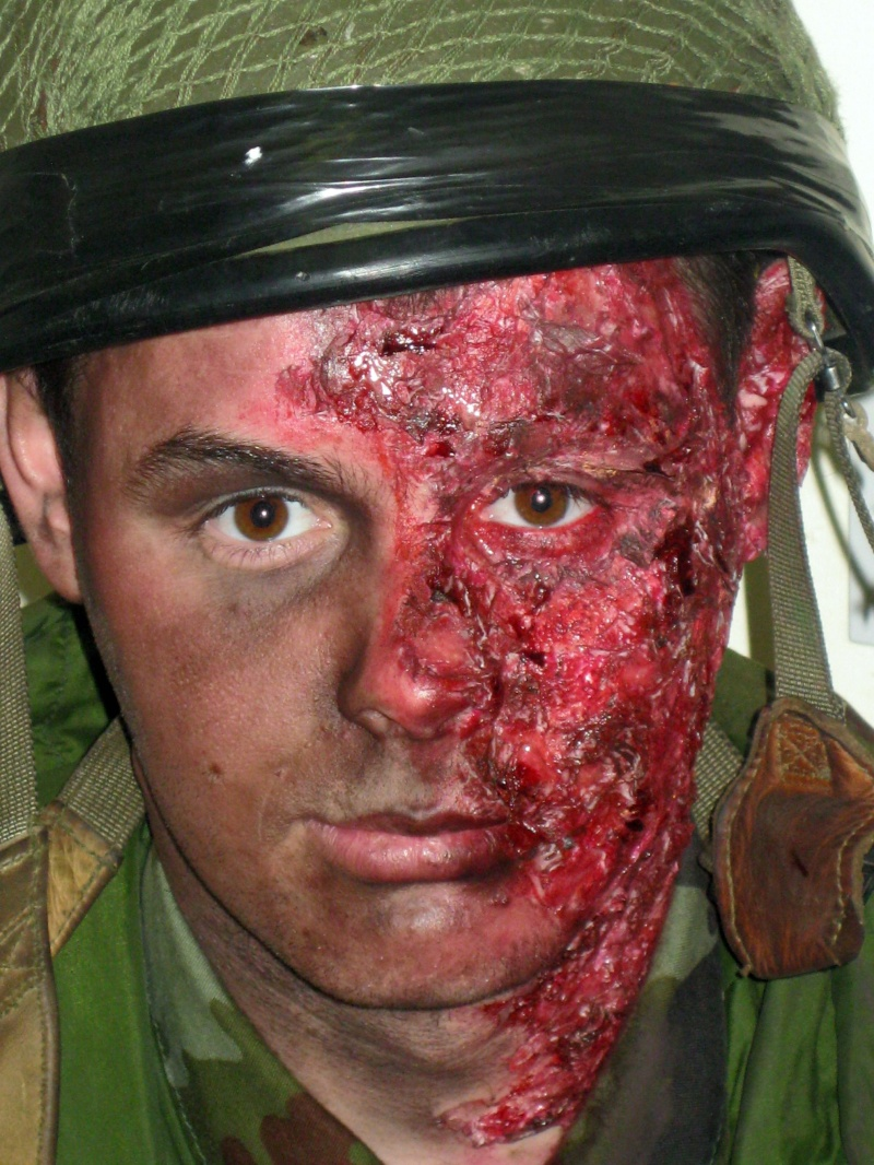 May 01, 2010 Burnt Soldier FX Makeup