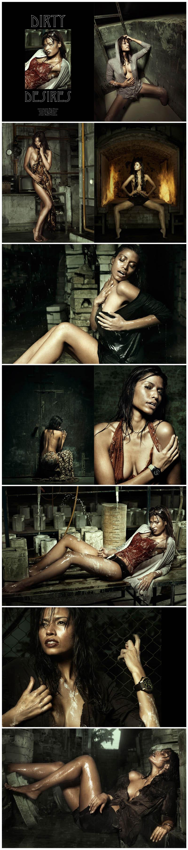May 01, 2010 Dirty Desires - Sharita Sopacua (Miss Netherlands 2005)