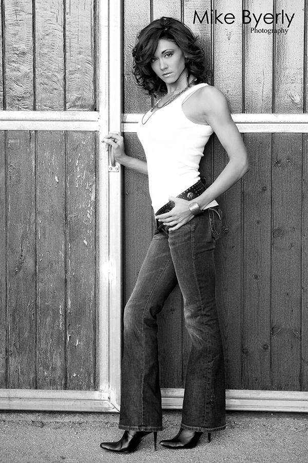 Female model photo shoot of Mindy Michele by Mike Byerly Photography in Bar A Ranch Scottsdale