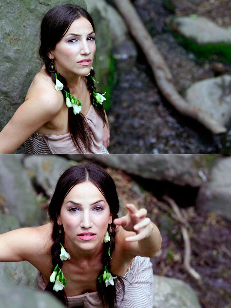 New York, NY May 03, 2010 Rachel Galperin Native American Inspired