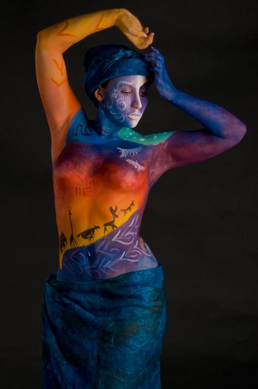 Female model photo shoot of Infidel Images-Body Art and Katjarina Dii Pockette in Waukesha, WI