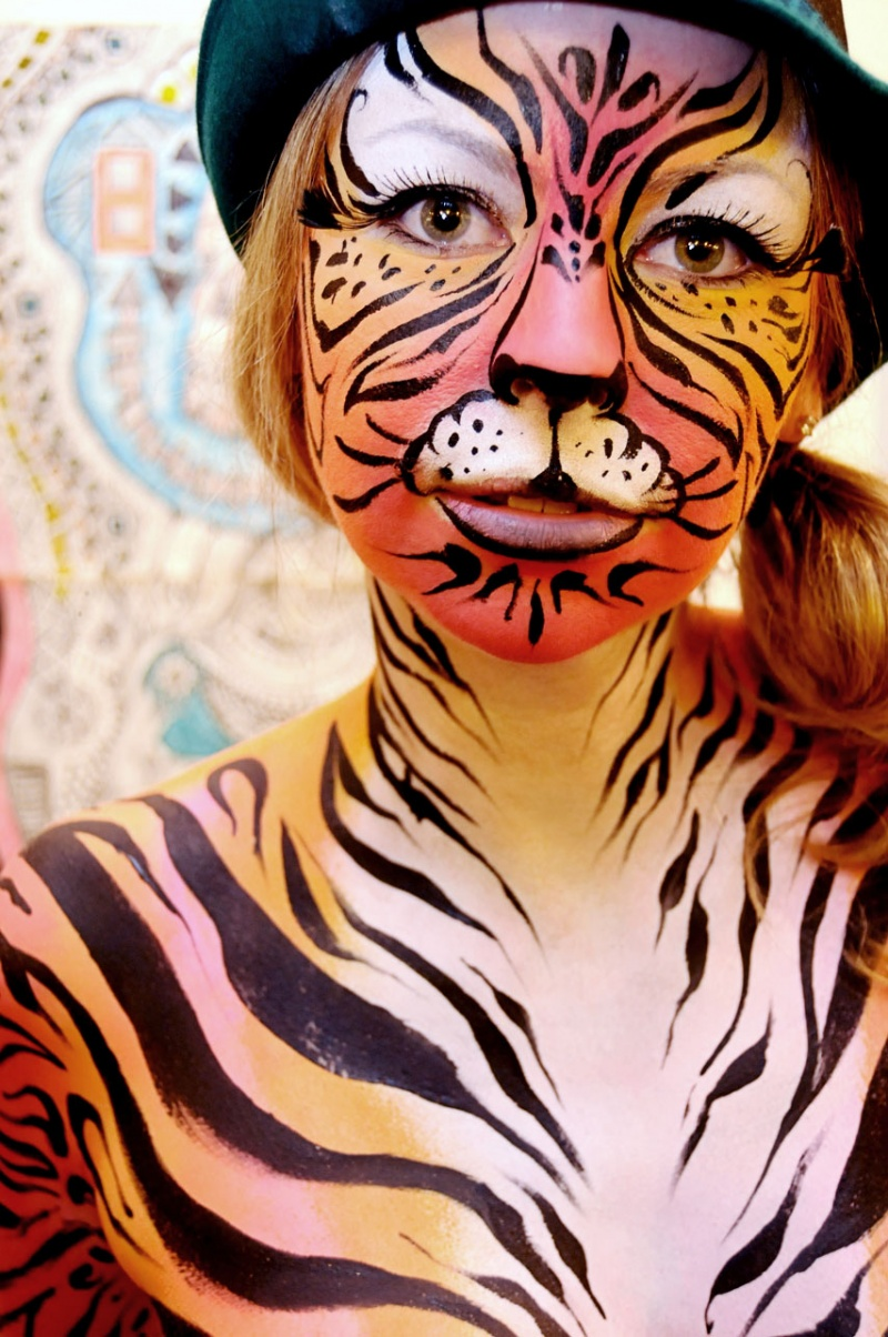 Baltimore, Maryland May 03, 2010 Artist Patricia Tamariz 2010 Tiki Tigress