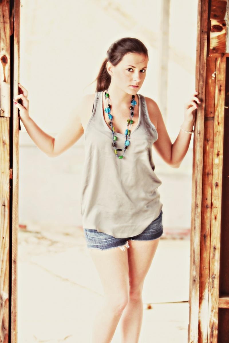 Female model photo shoot of N Corey