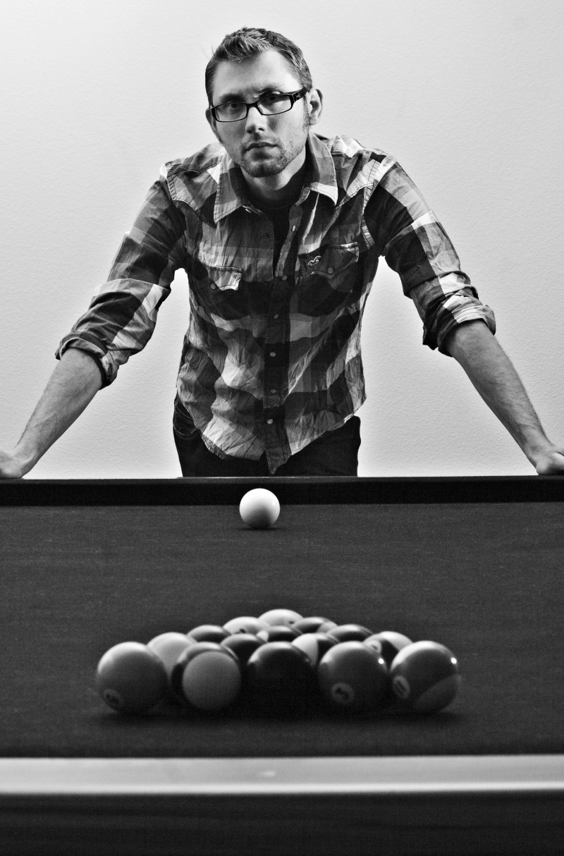 Menifee, Ca May 04, 2010 2010 Mark Streeter Photography Billiards - Self Portrait