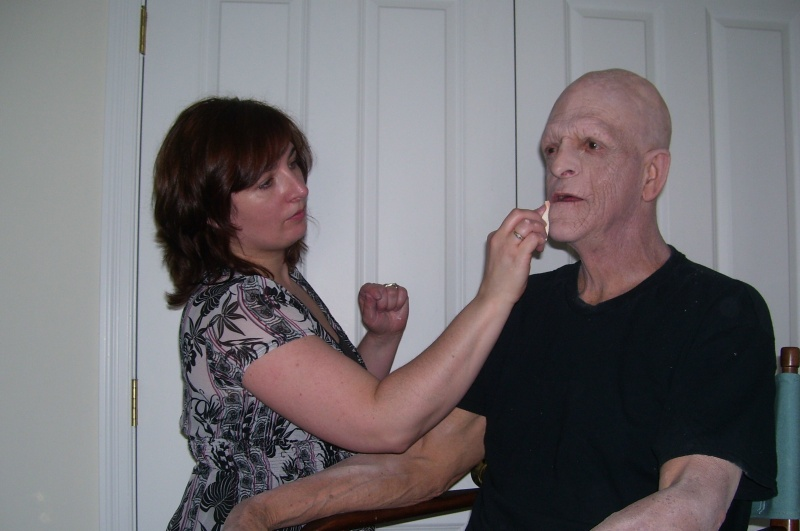 May 05, 2010 Horror Icon Michael Berryman (Hills have Eyes, Devils Rejects, Weird Science) on the set of BEG!