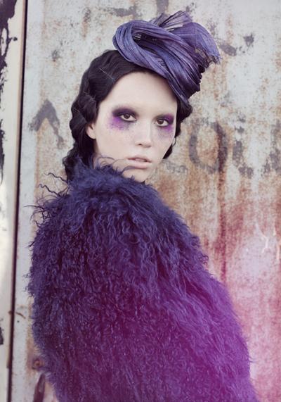 NYC May 06, 2010 Tattered Gossamer Millinery Photography Andrea Massari Model Aisa