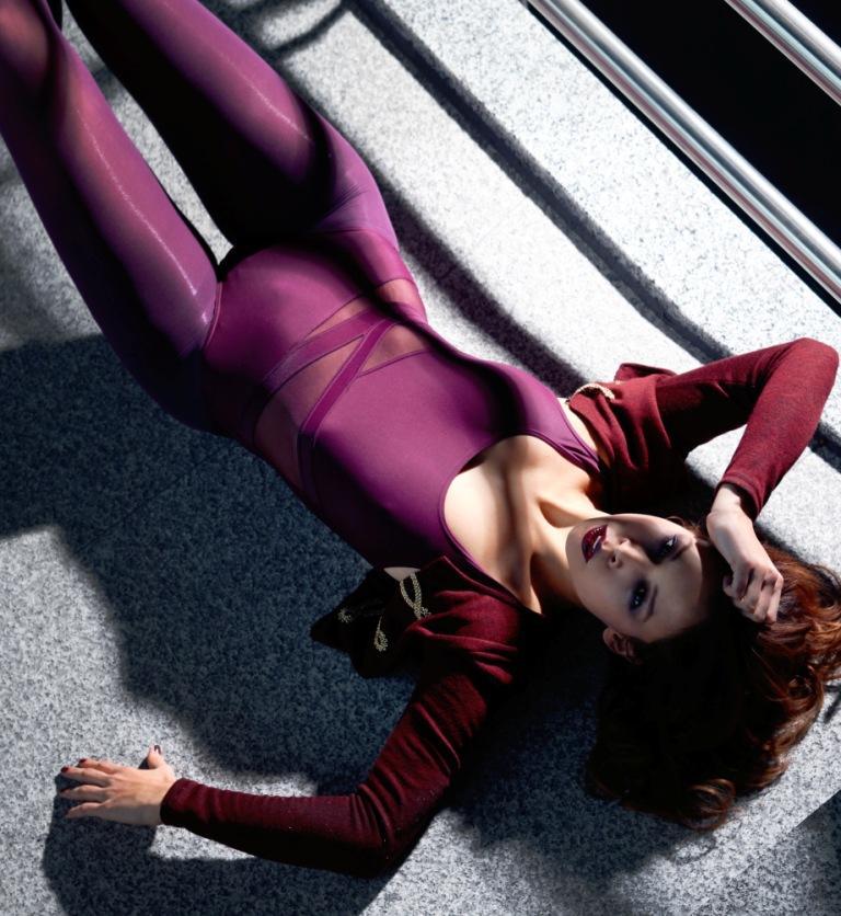 Female model photo shoot of Nora Gouma in Amsterdam