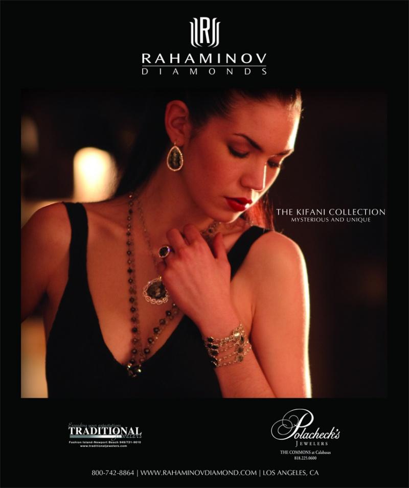 Published in Angeleno Magazine May issue May 06, 2010 Rahaminov Diamonds Rahaminov Diamonds Ad