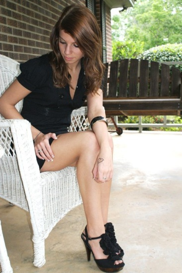 Alabama May 06, 2010 Hannah Rogers New tattoo<3