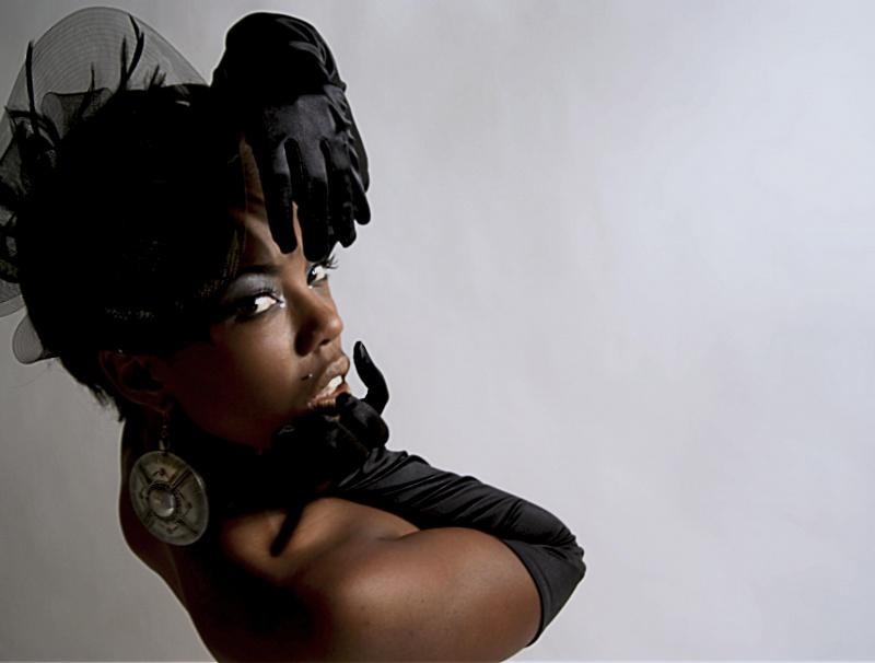 Female model photo shoot of Kobi Kenzo