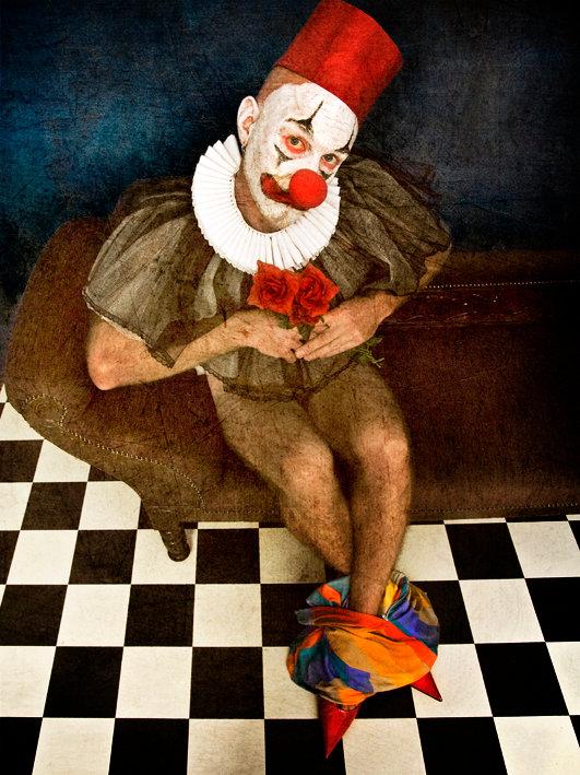 Metung, Australia May 08, 2010 Daniel Jenkins Pathetic Clown