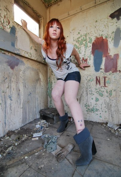 Female model photo shoot of Courtz C