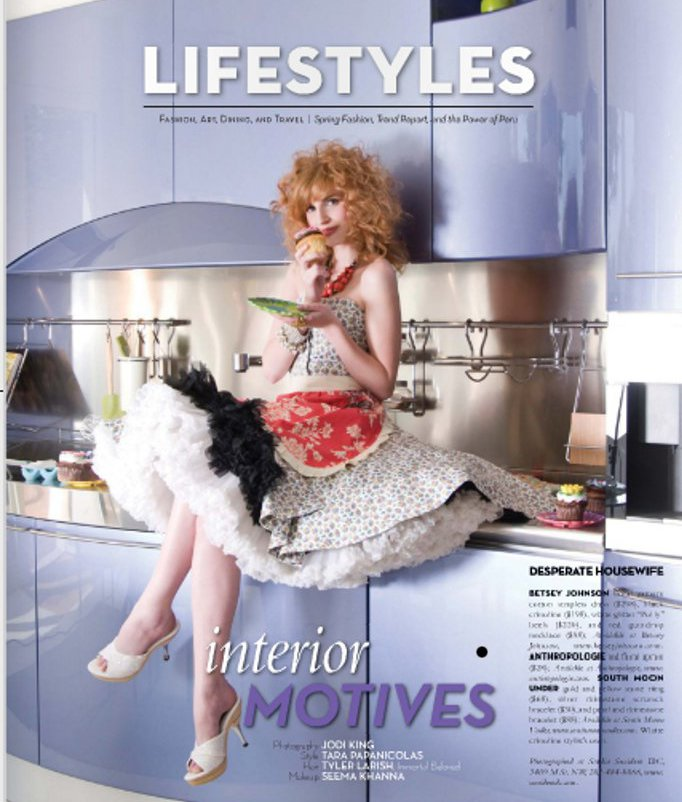 May 10, 2010 Washington Life magazine spread. Photography: Jodi King, Hair: Tyler Larish,Styled by: Tara Papanicolas, Make Up:Seema Khanna