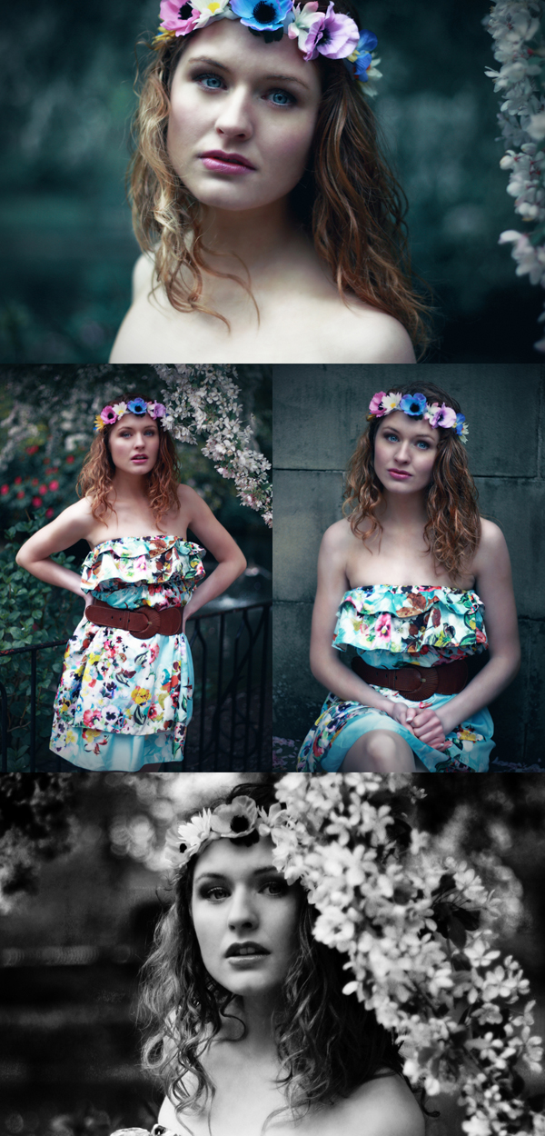 Female model photo shoot of Heather Louise and Georgina Stokes in Nottingham, makeup by Laura Harrison Make-up