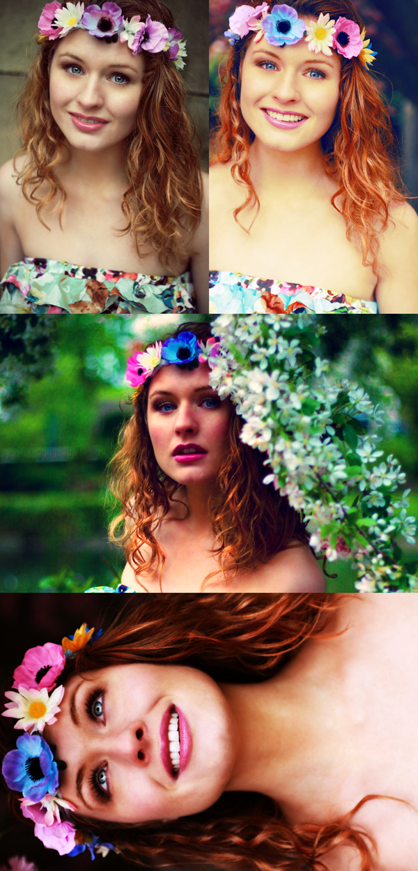 Female model photo shoot of Heather Louise and Georgina Stokes, makeup by Laura Harrison Make-up