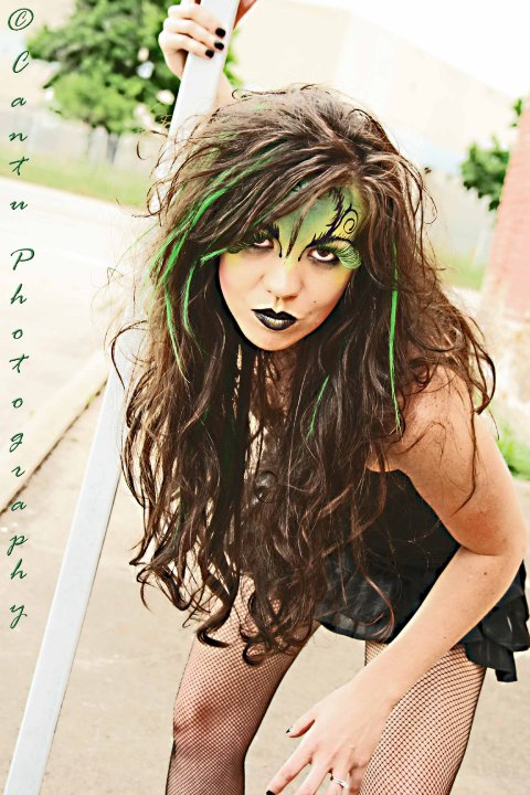 Dallas, Tx May 12, 2010 Cantu Photography Wicked Witch in OZ Shoot