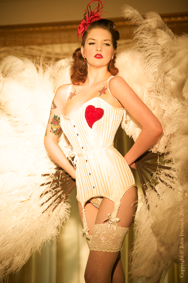 Cheshire May 13, 2010 John Dietrich Angel Heart Modelled by Millie Dollar