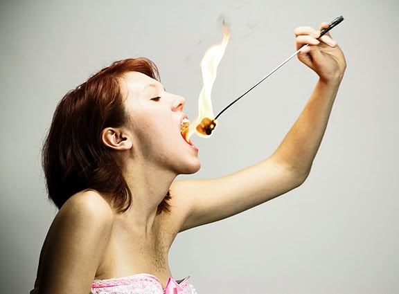 May 14, 2010 Fire Eating (not photoshopped fire by the way)