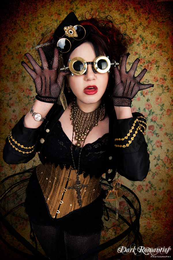 May 14, 2010 Promo shot by Dark Romantics Photography for Nocturnal magazine. Wardroobe by Mort Couture, accessories and props by Sydeian Creations I shot my eyes in order to see
