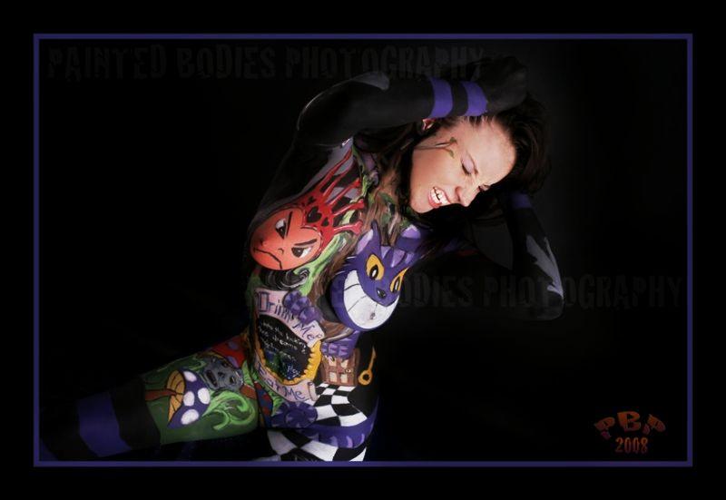 Mass May 14, 2010 Painted Bodies - Jeff Stuck in trippy wonderland