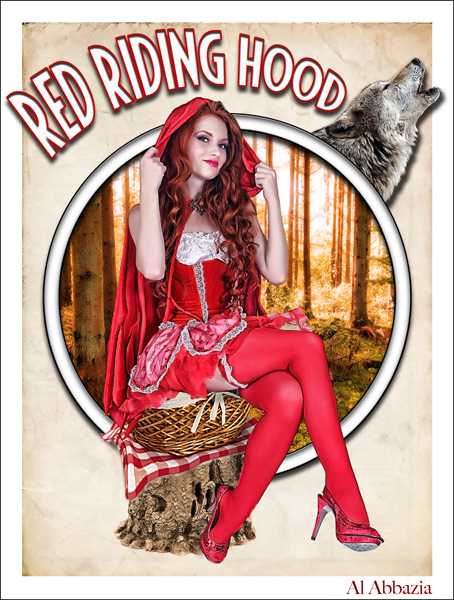 May 15, 2010 Al Abbazia Red Riding Hood - Digital Art of the Day Winner
