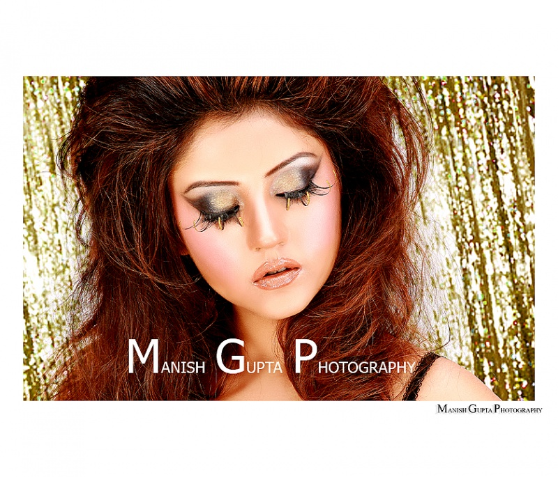 MANISH GUPTA STUDIO May 16, 2010 MANISH GUPTA model pujas eyelashes look