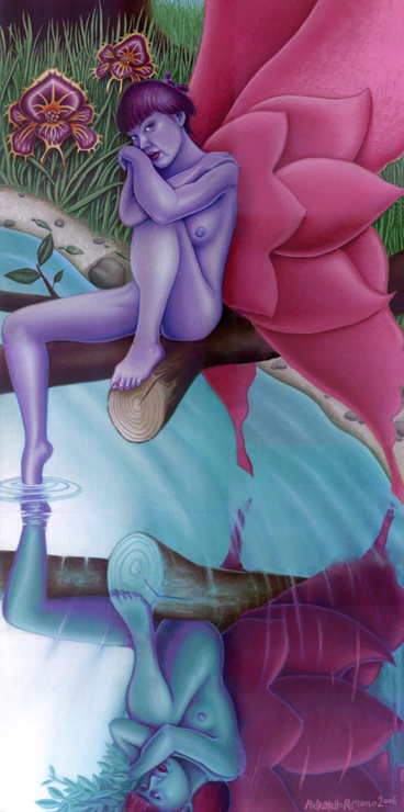 May 17, 2010 Pietro Otello Romano reflected love illusion of life