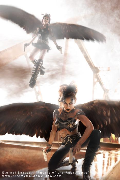 Eureka Springs, AR May 17, 2010 Elite International Photography Angel of the Apocalypse