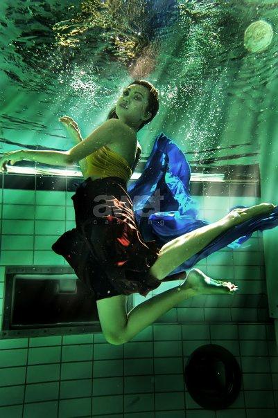 May 19, 2010 Awet Casting Underwater Photoshoot