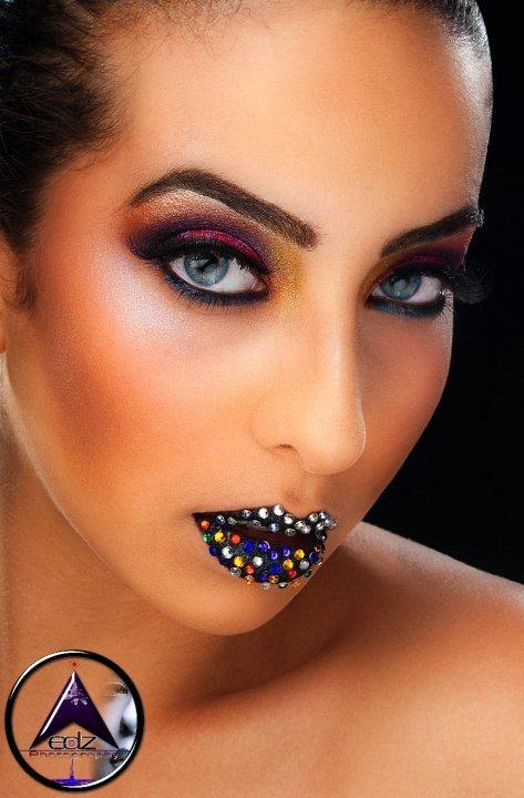 Orlando, FL May 20, 2010 Beauty Shot: Make Up By Christelsie Johnson