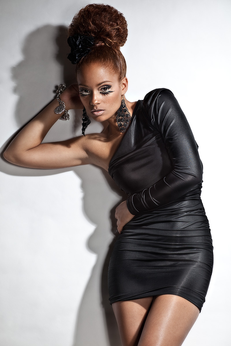 Lawndale May 23, 2010 Faze1Studio Drini on the hair, makeup and styling, whaa whaa *pops collar*