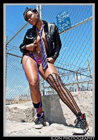 Female model photo shoot of BadAssSheida by ICON Photography in Indiana